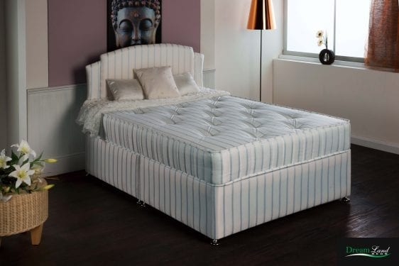 Delhia Orthopedic Divan Bed & Mattress