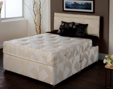 K2 Orthopedic Divan Bed & Mattress