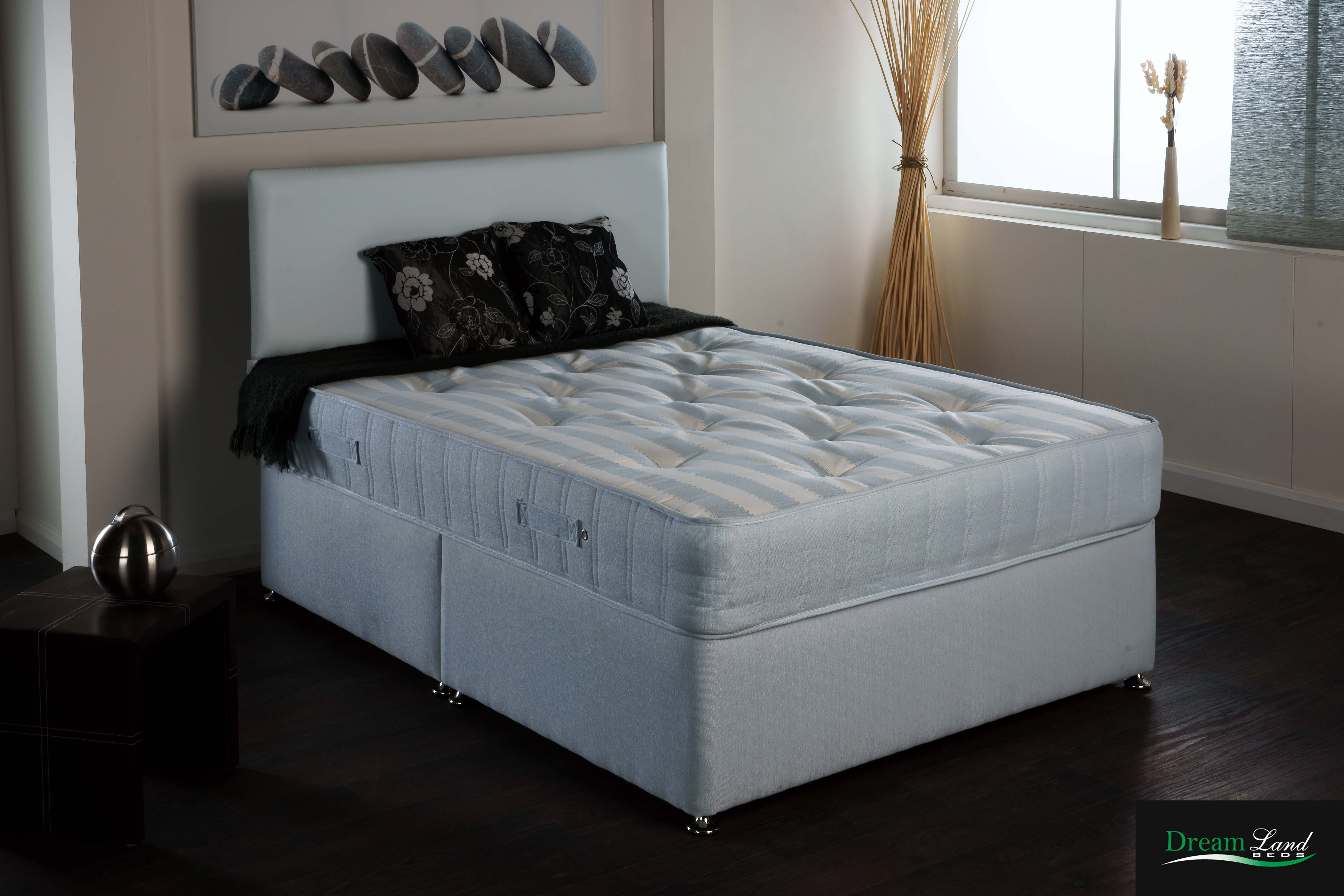 Luxury supreme pocket sprung divan bed mattress let us for Luxury divan beds