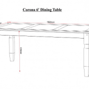 6ft Table Measurements