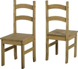 Corona / Mexican Pine Dining Chairs