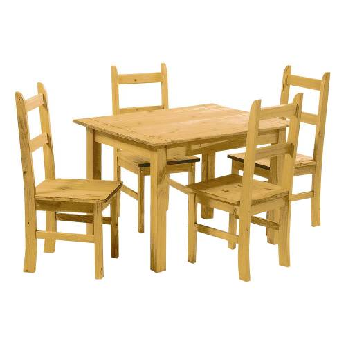 Mexican Pine Dining Set Let Us Furnish