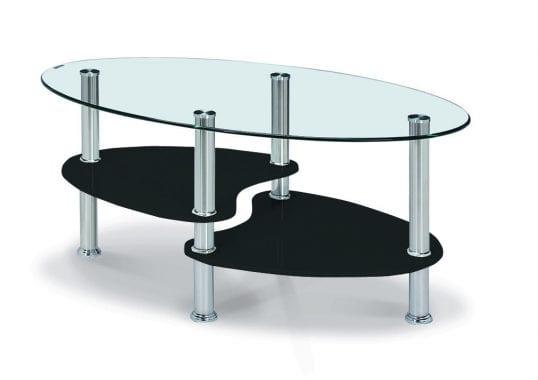 Hurst Black High Gloss Coffee Table