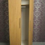 Rimini Oak 2 Door Robe With Open Door