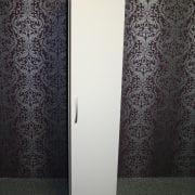Lisbon White 1 Door Robe
