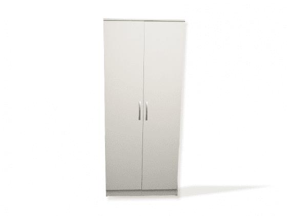 Essentials White Veneer Door Robe