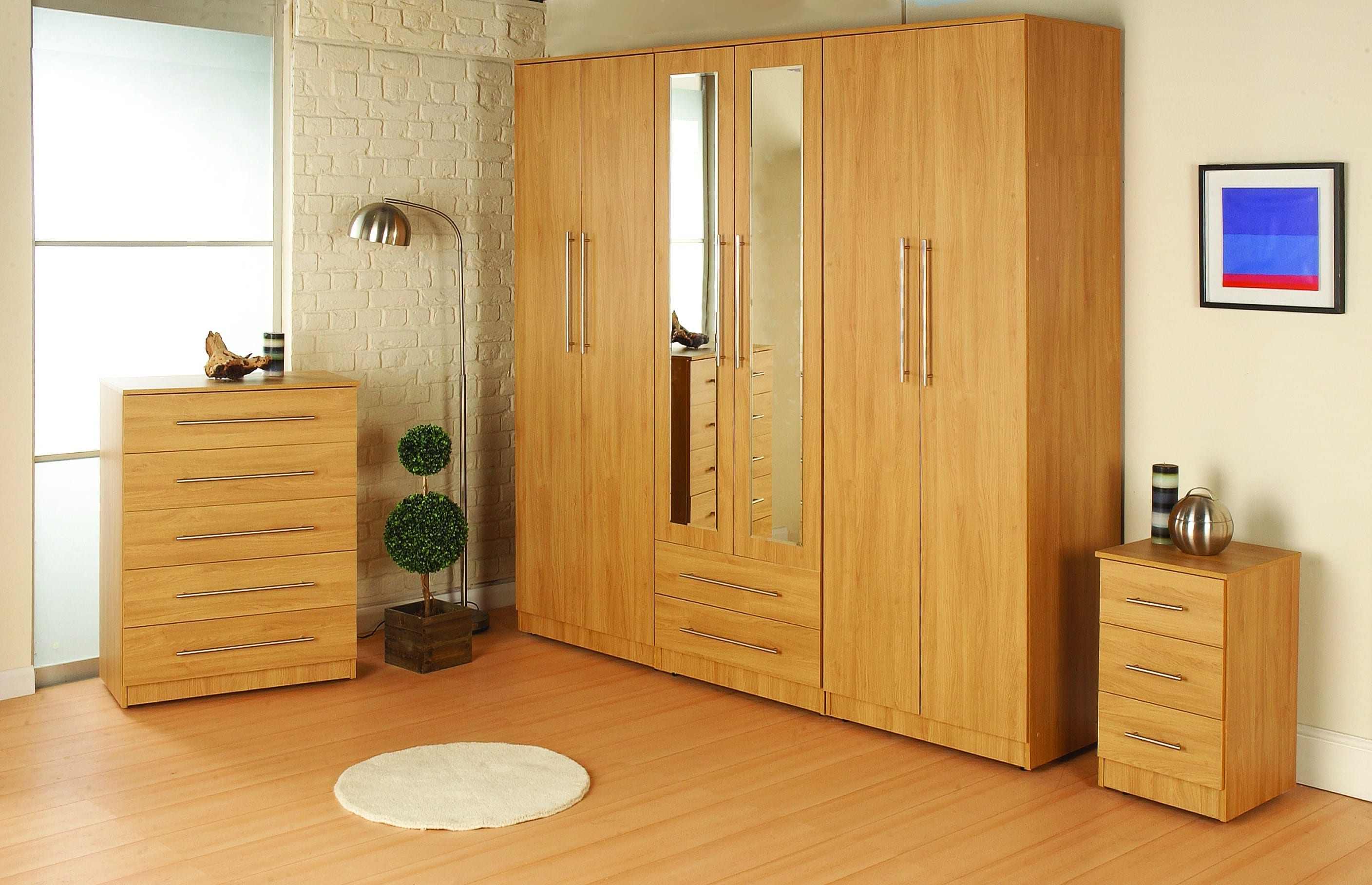 ravenna rimini oak veneer gents robe let us furnish. Black Bedroom Furniture Sets. Home Design Ideas