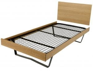 Contract Steel Gauge Bed With Surround