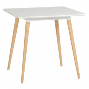 Table is available in White only