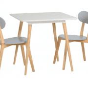 Julian Dining Set With Grey Chairs