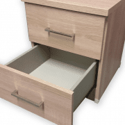 Modena 2 drawer open
