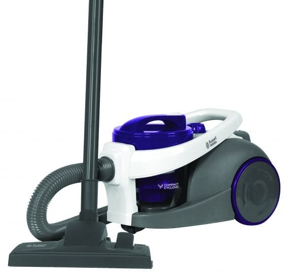 Russell Hobbs Compact Bagless Cylinder Vacuum Cleaner, 3.5 Litre, 700 W