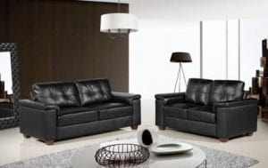 Ravello Black Sofa Set
