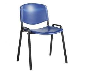 Taurus Blue Plastic Chair