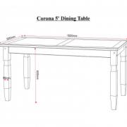 5ft Table Measurements