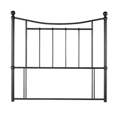 Bristol Metal Headboard In Black