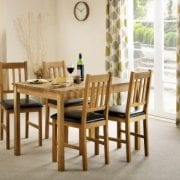 Coxmoor 4 Chairs Dining Set