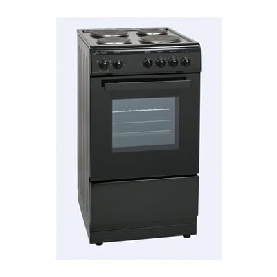 DELTA50EB 50cm Single Cavity Electric Cooker – Black