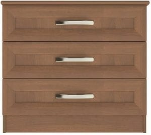 hamsterly 3 drawer wide chest