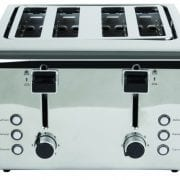 Igenix IG3204 4 Slice Toaster – Brushed and Polished Stainless Steel
