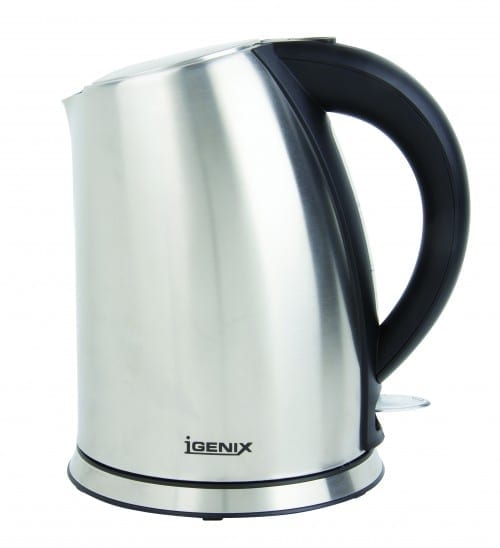 Igenix IG7250 1.7 Litre Jug Kettle – Brushed Stainless Steel