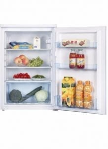 L255W 55cm Under Counter Larder Fridge – White