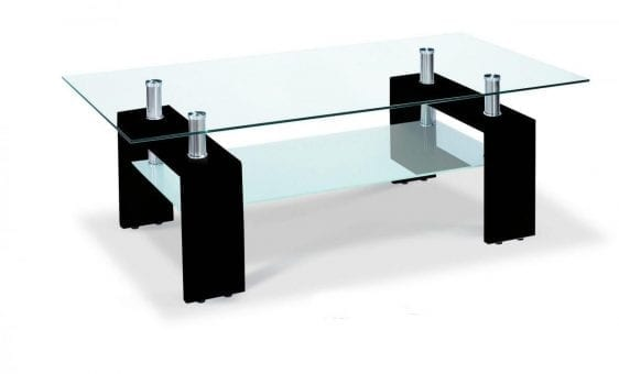 Telford Coffee Table High Gloss Black
