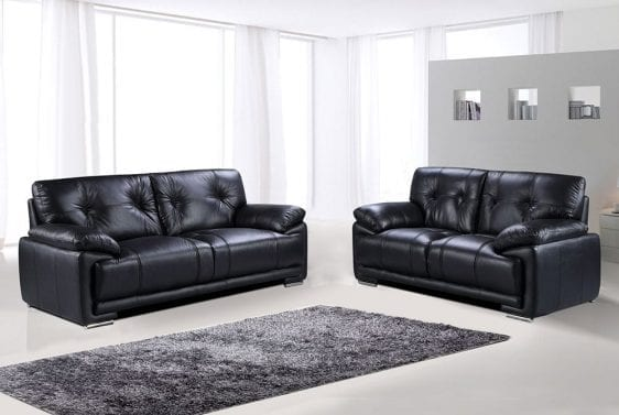 Stacey sofa black