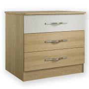 Oskar 3 drawer chest