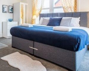 Aamira Zip & Link Bed with Headboard
