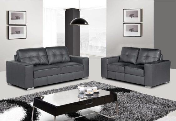 Grey Rome Sofa Set