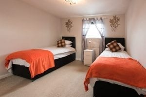 Serviced Accommodation in Glasgow Bedroom