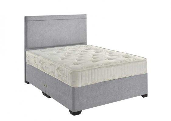 Oak King Divan Bed