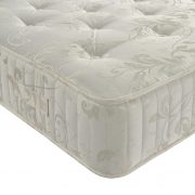 oak king mattress corner