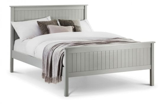Maine Double Bed in Grey