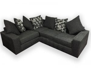 New York Grey Corner Sofa