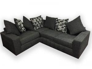 New York Grey Corner Sofa