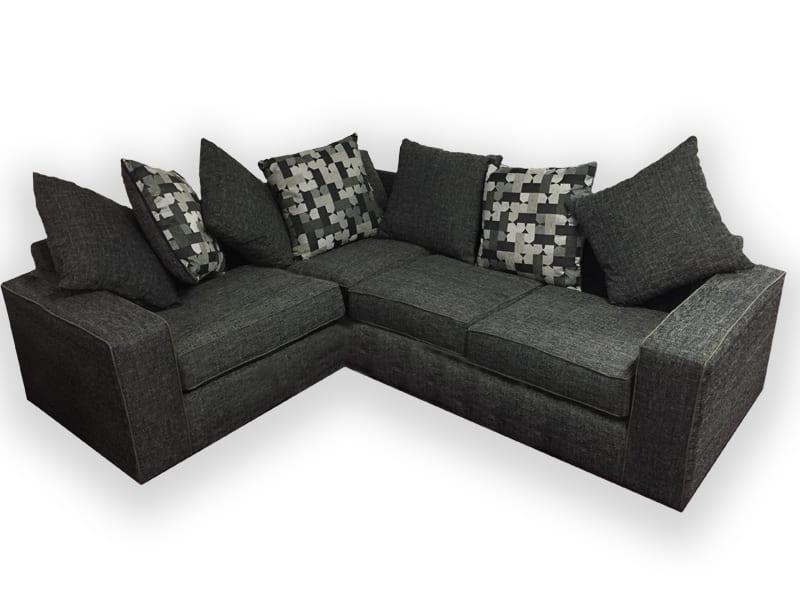New York Fabric Corner Sofa - Let Us Furnish