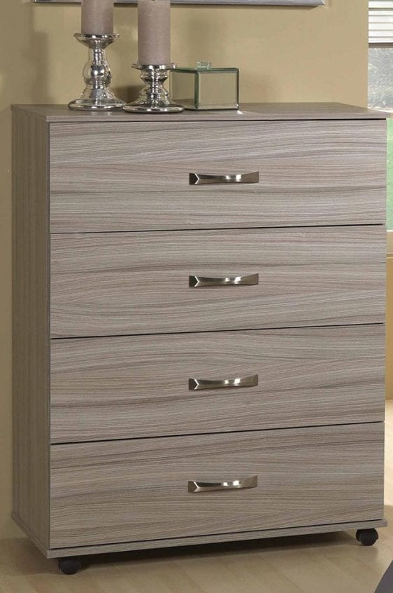 Solo grey 4 Drawer Chest