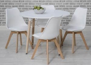 Urban Round Table White