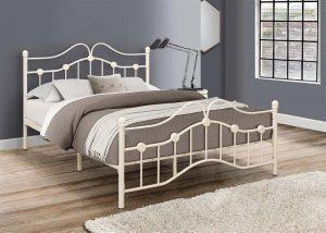 Cream Canterbury Bed