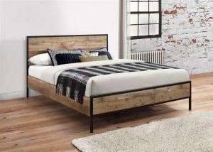 Rustic Urban Bed