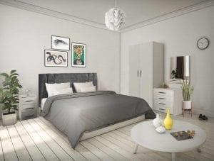 Ravenna Grey Bedroom Set